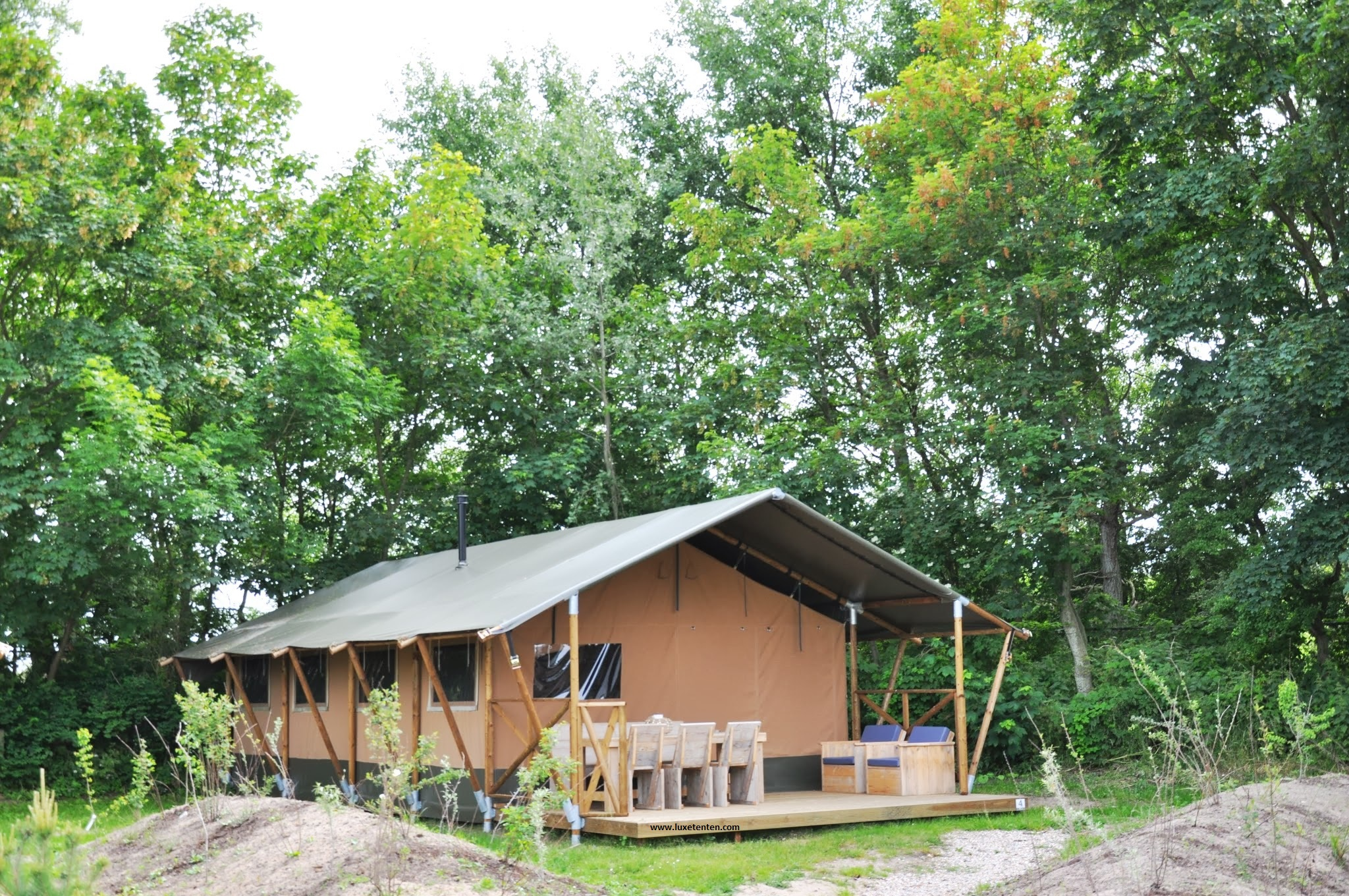 Hébergement Original Et Tout Confort - Camping 3 étoiles à Belle-Ile ...